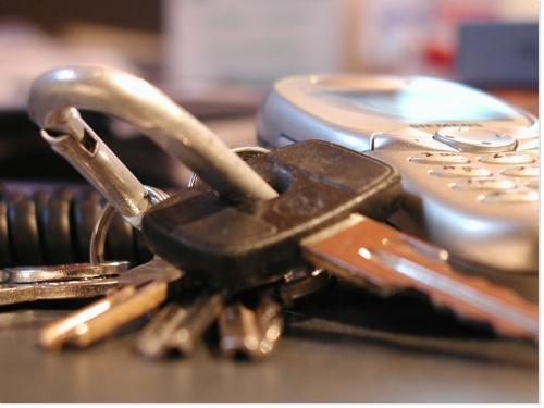 """Le trousseau de clefs de """"Porte-moi"""""""